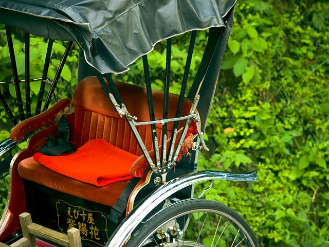 Rickshaw Tour (Jin-riki-sha)
