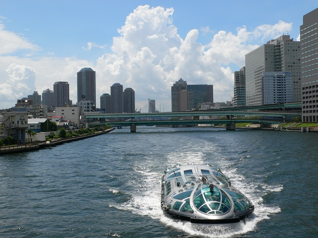 Japan travel guide: Sumida River Cruise