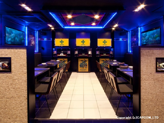 -New Hot Spot- CAPCOM PASELA ENTERTAINMENT BAR
