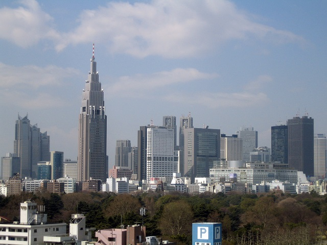Shinjuku Town has multiple faces