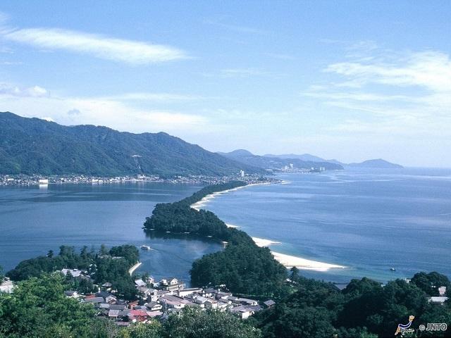 Amanohashidate Three of Views of Japan