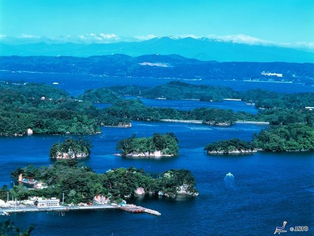 Matsushima Three Views of Japan