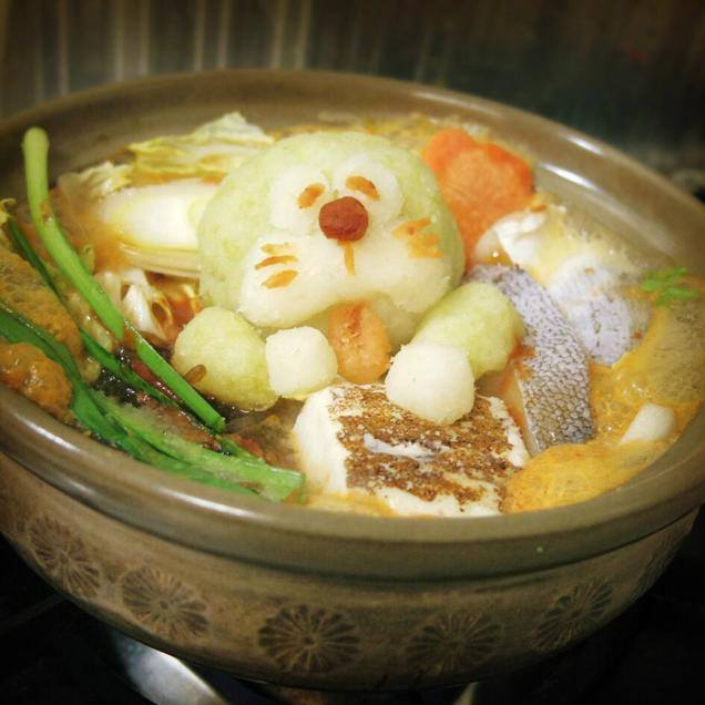 Decorated Nabe (Hot pot)