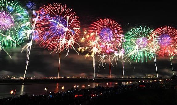 Hanabi, Fireworks
