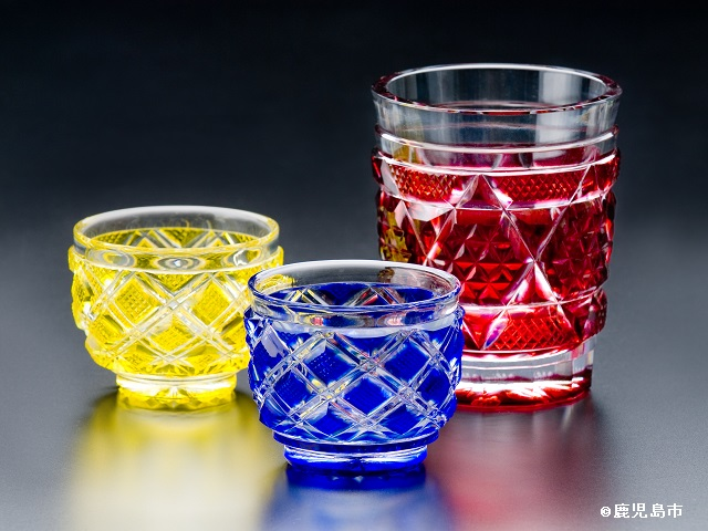 Satsuma Kiriko Glass
