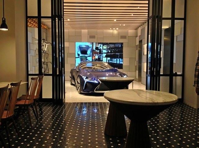 Lexus Cafe in Tokyo, Aoyama