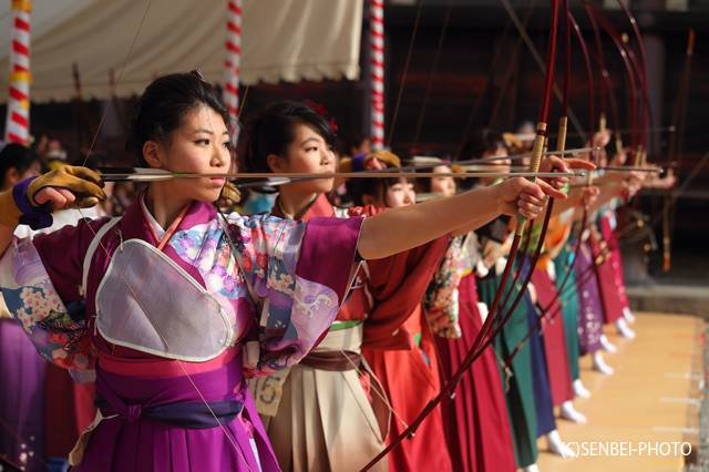 Long-Distance JAPANESE ARCHERY in KYOTO