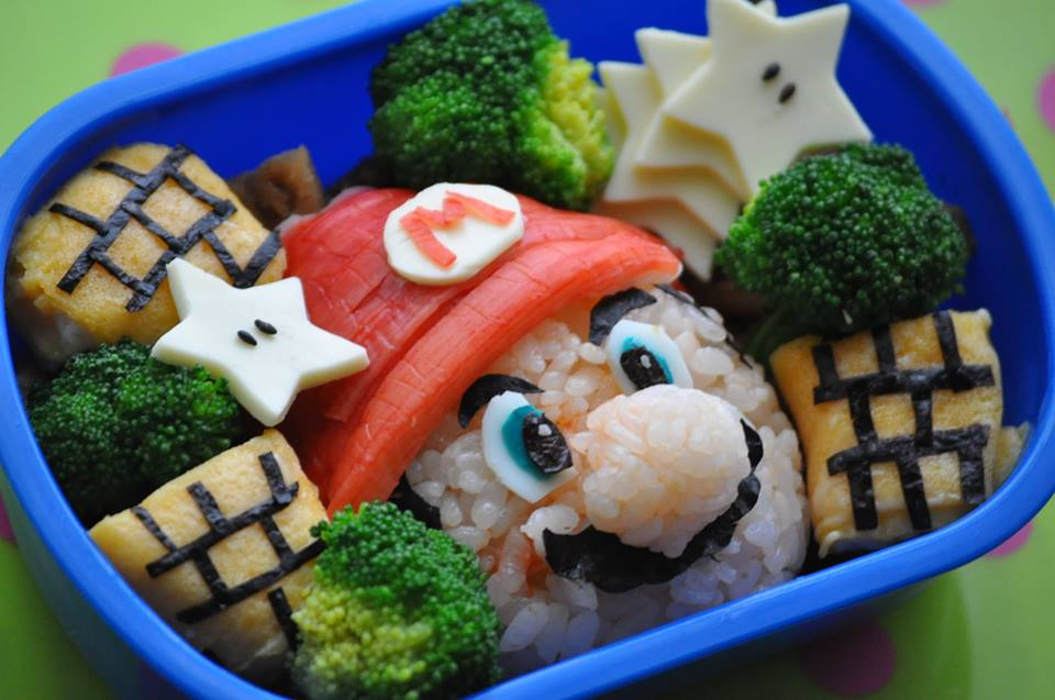 Adorable Bento Inspired by Popular Characters