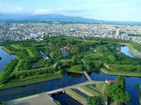 Hokkaido Goryokaku | Star Shaped Fort