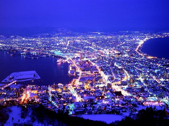 Hokkaido Hakodate Ropeway | Million-Dollar Night View