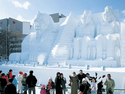Hokkaido Snow Festival | Magnificent Snow Statues