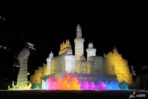 Hokkaido Snow Festival | Beautiful Ice Sculptures