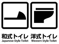 Restrooms in Japan