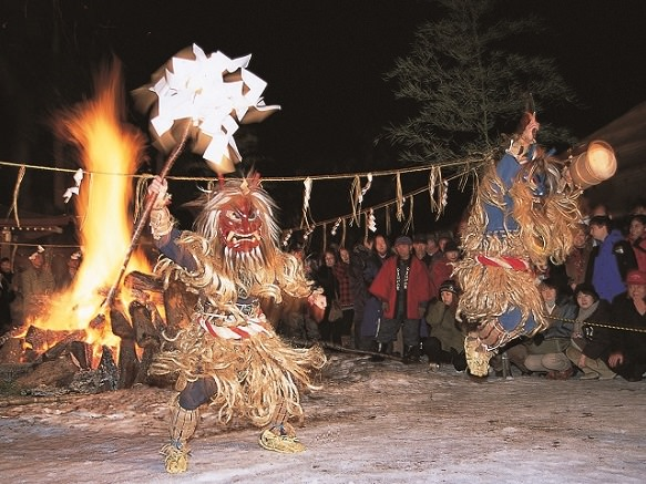 Namahage Demons Promise Good Fortune