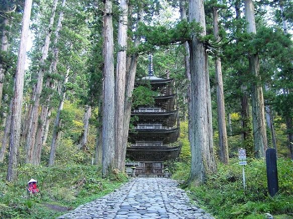 Yamagata Mount Haguro | One of the Three Mountains of Dewa