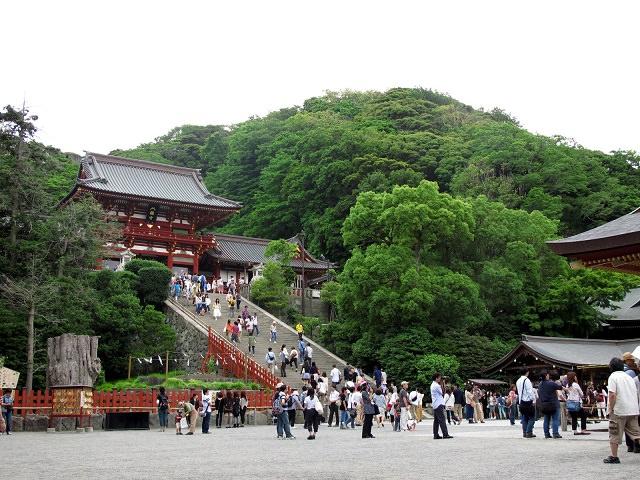 Kamakura's most important shrine - Tsurugaoka Hachimangu
