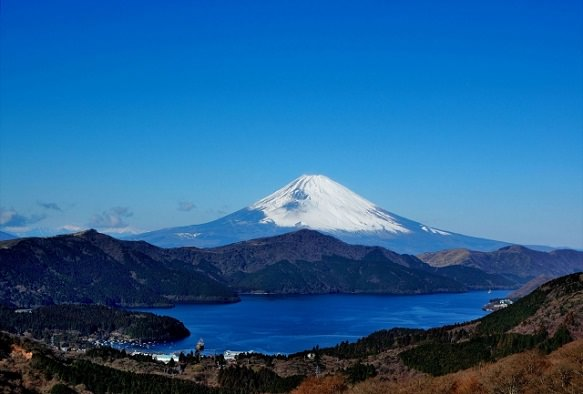 Hakone Lake Ashi | Duo View with Mt. Fuji