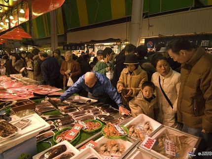 Ishikawa Ohmicho Ichiba | Freshest Seafood of Kanazawa