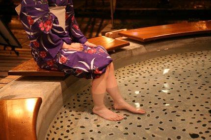 Gero Onsen's Footbaths