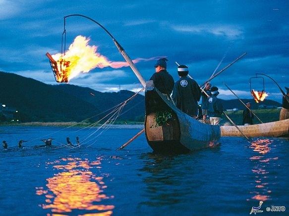Ukai - Cormorant Fishing in the Nagara River