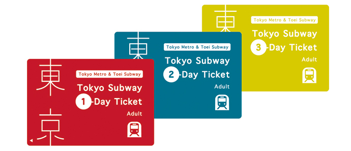 Fully enjoy Tokyo with the Tokyo Subway Ticket by starting with popular spots, then moving on to more exotic places