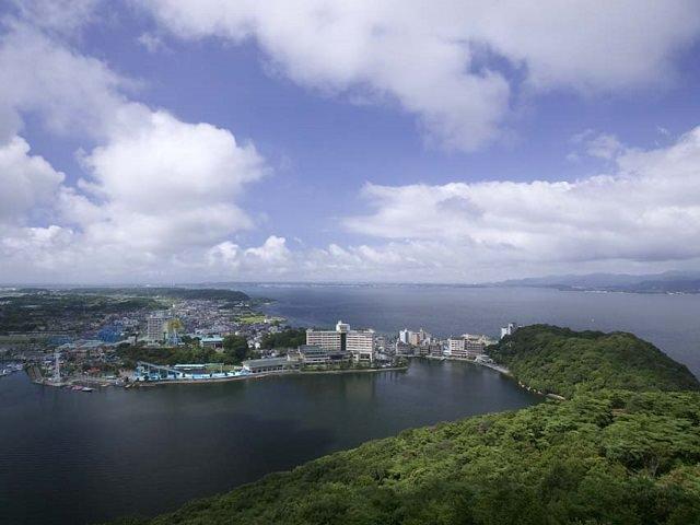 Shizuoka Lake Hamana  | Fresh Water Lake Merges with the Ocean