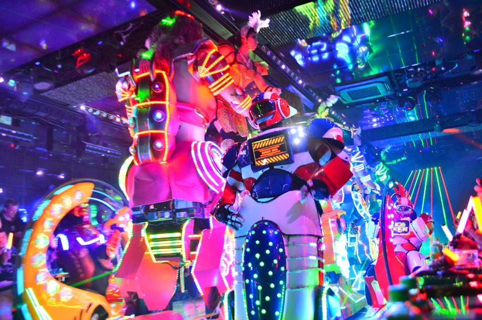 What is the robot restaurant?