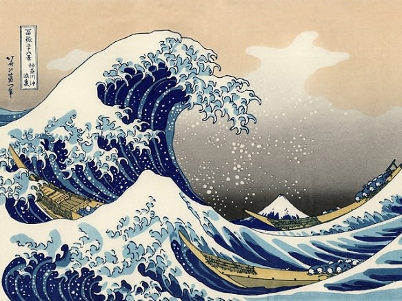 The Great Wave off Kanagawa | Obuse