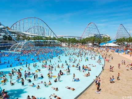 Mie Nagashima Spa Land | Water Park and Hot Spring