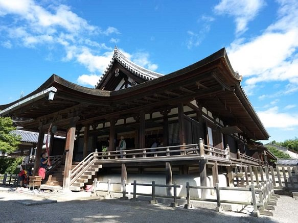 One of the Seven Great Temples with Japan's Oldest Pagoda