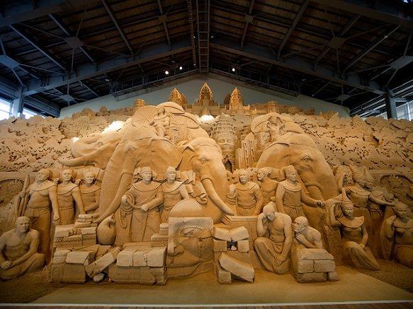 Tottori Sand Museum | Spectacular Sand Sculptures