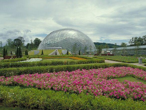 Tottori Hanakairo - Flower Park | Largest Flower Cloister