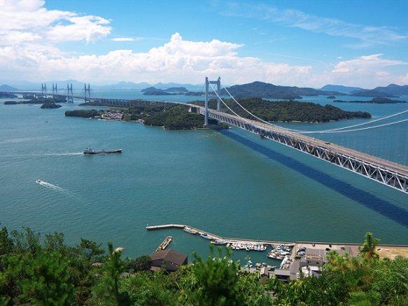 Okayama Great Seto Bridge | From Honshu to Shikoku