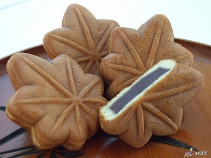 Maple Leaf Shaped Manju