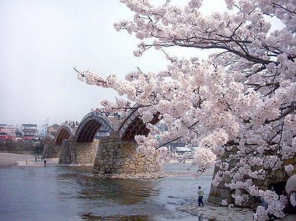 Yamaguchi Kintai Bridge | Five Wooden Arches
