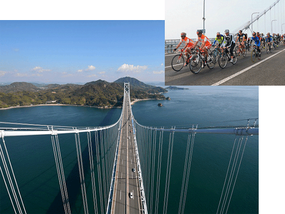 Ehime Shimanami Kaido | Beautiful Scenery Route Connecting Honshu to Shikoku
