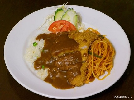 Rice Pilaf, Pork Cutlet, Curry & Pasta | Nagasaki