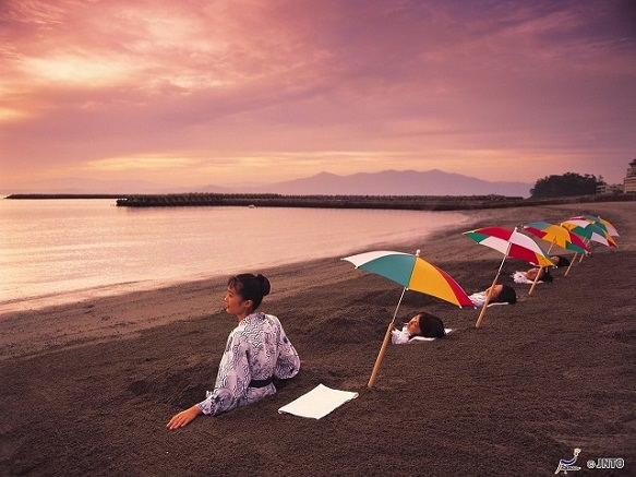 Hot Springs & Sunamushi - Sand Bathing | Kagoshima