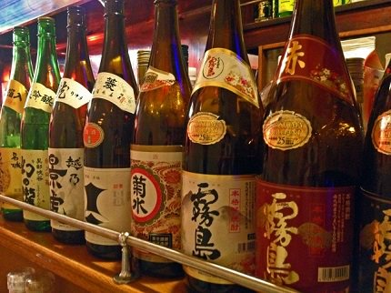 Japanese Alcohol from Barley or Sweet Potatoes