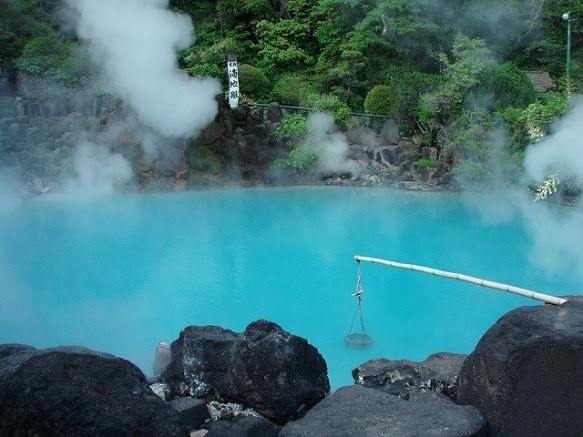 Oita Beppu Spa | The Sea Hell, The Blood Pond Hell & The Tornado Hell