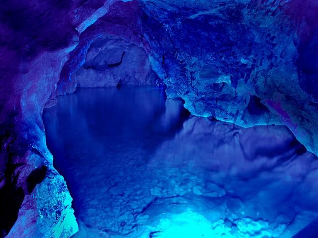 Oita Inazumi Underwater Stalactite Cave | Largest Stalactite Cave