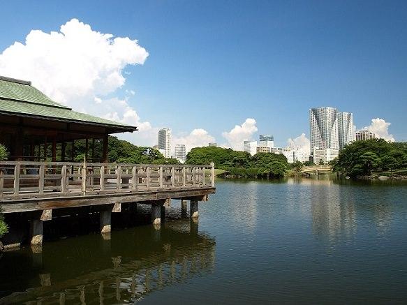 Tokyo Hamarikyu Garden | Seaside Garden
