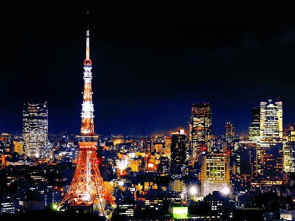 Tokyo Tower - Second Tallest Tower in Japan