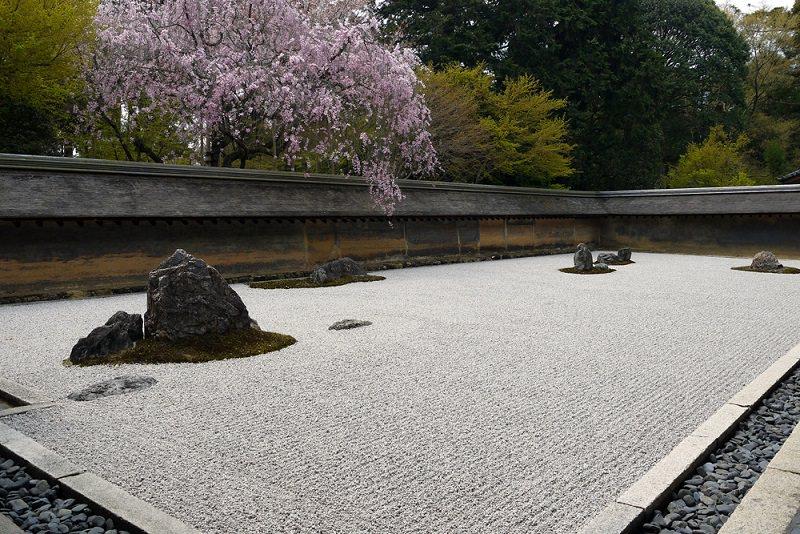 Kyoto Ryoanji Temple | Zen Temple with Impressive Rock Garden