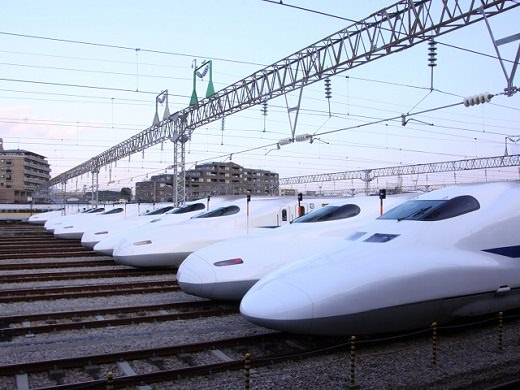 The Fastest and Safest Train - Shinkansen