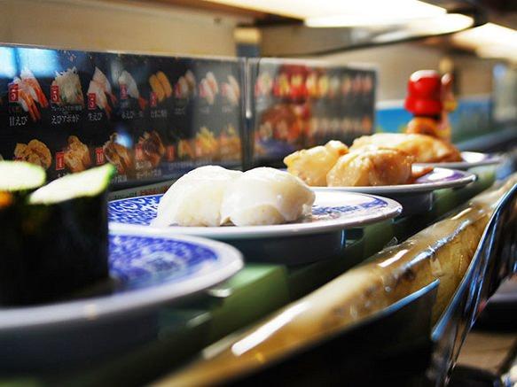 Revolving Sushi | Conveyor-Belt Sushi