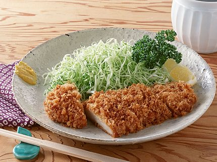 Breaded Deep Fried Pork Cutlet