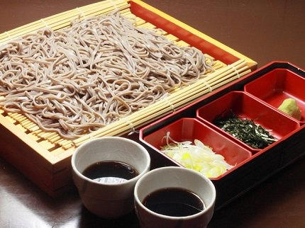 Noodles made of buckwheat flour | Soba