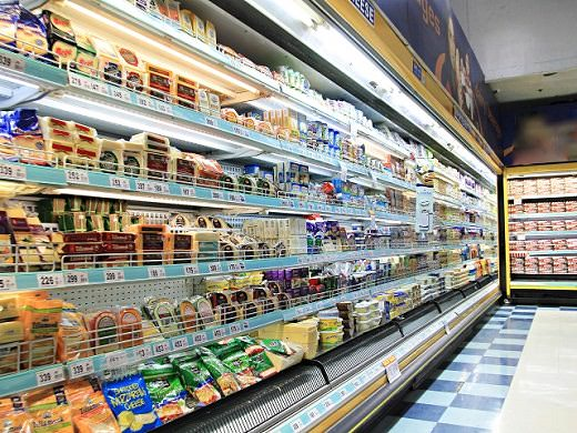 Local Grocery Stores and Large Supermarkets