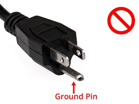 Grounded Plug